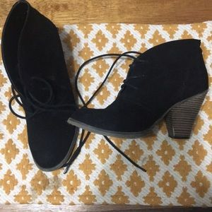 Mia booties size 9